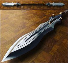 Cool concept, futuristic, medieval and fantasy weapons Swords And Daggers, Knives And Swords, Katana, Armas Ninja, Medieval Weapons, Weapon Concept Art, Arm Armor, Body Armor, Fantasy Weapons