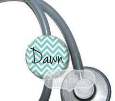 Stethoscope ID Tag Personalized with Your Name by abbyloutwo, $7.99