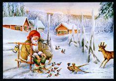 Julkort av Erik Forsman