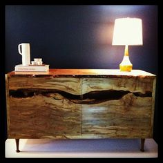 One of a kind Ambrosia Maple Sideboard available at Finch a life curated in Hudson, NY http://www.finchhudson.com/features/sample-artist-2/