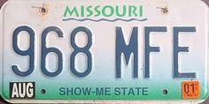 Missouri - Show-Me State