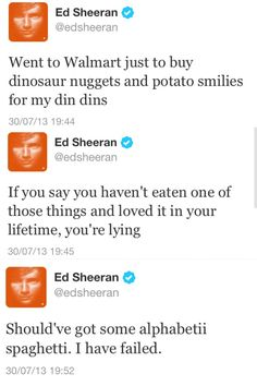 Only ed. Can u believe the music that comes from him after seeing this? Haha i like that about him.