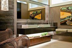 40 Bancadas de banheiros/lavabos – veja modelos modernos e maravilhosos!