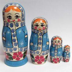 Nested Doll Sneguroshka