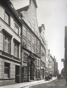 Lübecker Altstadt, um 1910