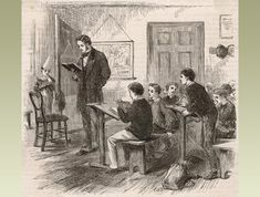 Box Canvas Print (other products available) - A teacher conducts a mathematics class while a boy wearing the dunce& cap stands mournfully behind the blackboard. - Image supplied by Mary Evans Prints Online - inch Box Canvas Print made in the UK Fine Art Prints, Canvas Prints, Framed Prints, Primary History, Art Of Manliness, Boys Wear, Math Class, Art Reproductions, Poster Size Prints