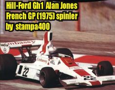 F1 Paper Model - 1975 French GP Hill GH1 Paper Car Ver.2 Free Template Download