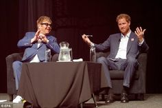 Prince Harry and Sir Elton John were today at an AIDS Conference to raise awarness on HIV.