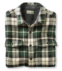 LL Bean fleece-Lined flannel shirts are a little out of season... but I still want it :)