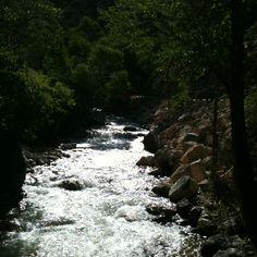 A river runs through it- Wyoming