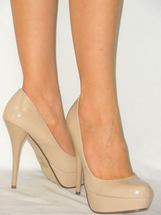 I need a pair of nude heels really bad. I like these because they are plain and simple and can match so much!!