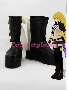 Costumes & Accessories Novelty & Special Use D.gray-man 3th Yu Kanda Cosplay Shoes Long Boots Hand Made Custom-made For Halloween Christmas Cosplaylove Complete Range Of Articles