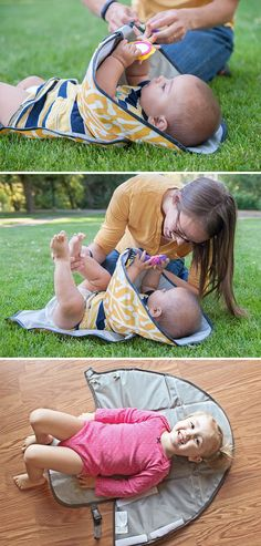 Cute Little Hands Don't Belong In Diapers! Changing Diaper Clutch
