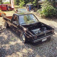 Welcome to Poland. @wolfsgruppe_official VAG Event 2015.  #sourkrauts #ontour #poland #vagevent #mercedes #dropped #bagged #lifestyle #caddy Volkswagen Golf Mk1, Vw Mk1, Vw Cady, Vw Caddy Mk1, Vw Pickup, Vw Classic, Mini Trucks, Car Engine, Vw Camper