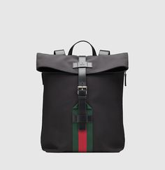 Gucci black techno canvas backpack - Mens Gucci - Ideas of Mens Gucci - Gucci black techno canvas backpack Buy Gucci, Gucci Men, Gucci Jordaan, Fashion Bags, Mens Fashion, Loafer Sneakers, Small Messenger Bag, Work Bags, Gucci Purses