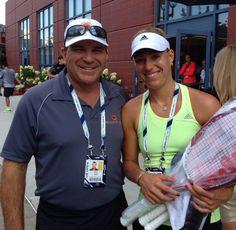 Congratulations Angelique!!! #AngeliqueKerber #USOpenchampion #USOpen #JohanKriek #tennis
