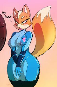 Fox mccloud porn