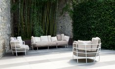 Dehors by Michele De Lucchi #outdoor #sofa #micheledelucchi
