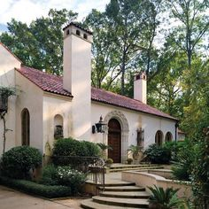 """like fireplaces """"spanish Colonial Exterior"""" Design Ideas, Pictures, Remodel, and Decor"""
