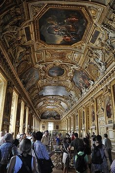 Inside The Louvre ~ Paris, France Beautiful Places To Travel, Amazing Places, The Places Youll Go, Places To See, Louvre, I Love Paris, World Traveler, Paris France, Provence