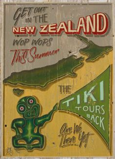 The great NZ Tiki Tour - by Jason Kelly