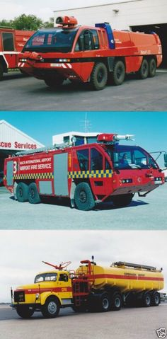 Airport Rescue / Fire Vehicles