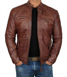4899561d4d0f3 30 Best Mens Leather Jackets Popular Styles images in 2019