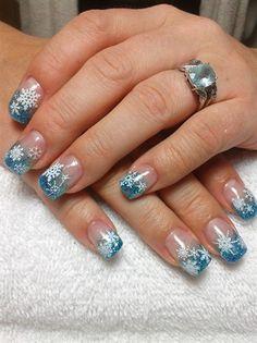 It snowed by littlenoey - Nail Art Gallery nailartgallery.nailsmag.com by Nails Magazine www.nailsmag.com #nailart