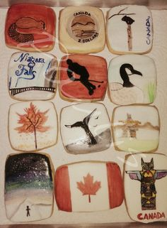 Canada cookies