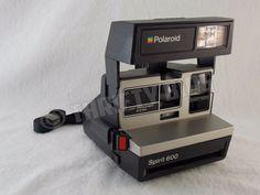 Vintage Polaroid Sun 600 LMS Light Management System Instant Camera Tested #Polaroid