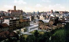 Roma, panorama,1890