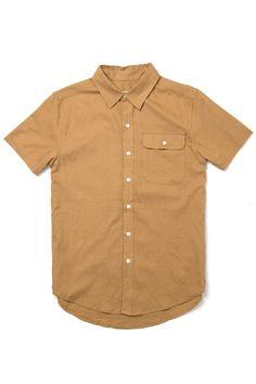 42bc6ce575e9 Marten Camel Summer Short Sleeve Shirt