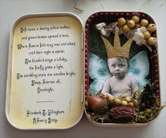 tutorial for altered tins | Her Creative Spirit: Altered Tin Tutorial and Friday Challenge