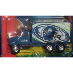 Seattle Seahawks Sports Truck - Ertl Collectibles Delivery Series 1:64 Scale NFL Diecast Car by NFL  $7.99