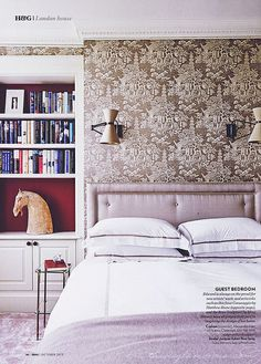 {two lovely things | in the bedroom : pretty print & pattern} by {this is glamorous}, via Flickr