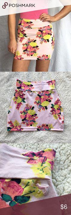 VS Pink Bandage Skirt Floral Bandage skirt by VS Pink. Size Medium. PINK Victoria's Secret Skirts Mini