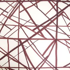 Channels Wallpaper by Kelly Wearstler Kelly Wearstler Wallpaper, Red River Gorge, West Village, Abstract Lines, Of Wallpaper, Edge Design, Interior Decorating, Pattern, Inspiration