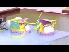 Como Hacer Zapatos de un Muñeco Payaso- Hogar Tv por Juan Gonzalo Angel Foam Crafts, Diy Crafts, Doll Tutorial, Baby Shower, Confetti, Pattern, David, Babies, Youtube