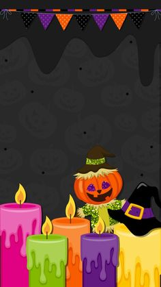 By Artist Unknown. Moldes Halloween, Halloween Clipart, Halloween Quotes, Halloween Pictures, Cute Halloween, Halloween Cupcakes, Halloween Themes, Halloween 2019, Halloween Wallpaper Iphone