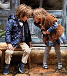 ALALOSHA: VOGUE ENFANTS: Must Have of the Day: Girls warm with Mayoral