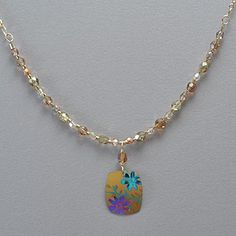 Holly Yashi Meadow Beaded Necklace - Peach