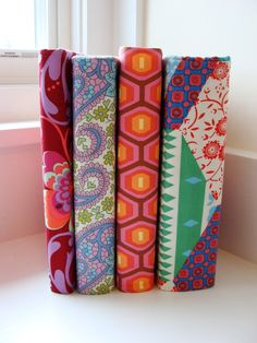 Just ordered two fabric binder covers to personalize my recipe books from Watermelon Wishes.