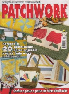 Patchwork magazine with many good ideas and patterns for appliqué