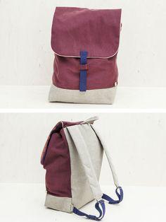 Backpack plum