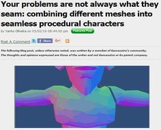Yanko Oliveira's Procedural CharactersLet's get technical. You might remember Yanko Oliveira's procedurally generated fairy chess, X, a Game of Y Z. Since then, Yanko's been blogging about some...