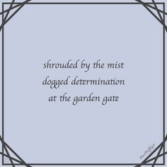 haiku 5-7-5s micro poems by Paul Douglas Lovell (@PowerpuffGeezer) https://scriggler.com/detailPost/story/115164 Our fast-paced lives leave little time to contemplate. These Micro Moments are designed to entertain in a few words, read them slowly and savour the essence. Be they ordinary or remarkable, they are all special in their simplicity. 095
