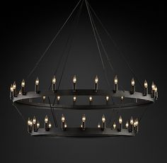 Finian 8 Light Rectangle Chandelier