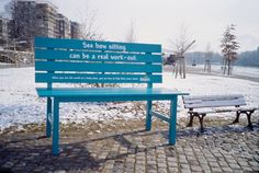 advertising, bench, creative, Examples, guerilla, inspiration, rest, Pampers