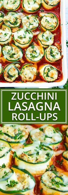 Treat yourself to these low-carb and keto Zucchini Lasagna Roll-Ups! They have all of the flavor of a traditional lasagna recipe without the unnecessary carbs. Plus, these Zucchini Lasagna Roll-Ups are naturally gluten-free lasagna recipe, too! Zucchini Lasagna Roll Ups Recipe, Zucchini Lasagne, Healthy Zucchini Lasagna, Lasagna Rolls Recipe, Low Fat Lasagna Recipe, Healthy Lasagna Rolls, Stuffed Zucchini Recipes, Recipe Zucchini, Low Carb Keto