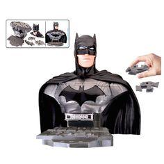 Justice League Batman Bust 3-D Puzzle $24.99